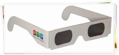 Contoh Kacamata 3D dengan Circular Polarized
