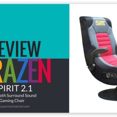 Gaming Chair 5 1 Surround Sound Spa For Sale Review Brazen Spirit 2 Bluetooth