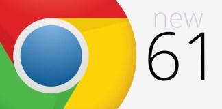 Chrome 61 baru