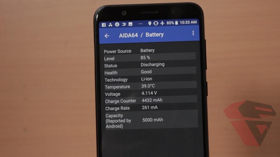 review Zenfone Max Pro M1 - Battery - spec