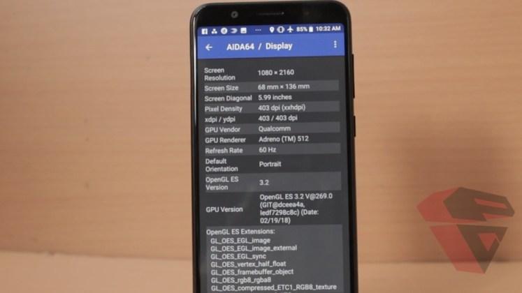 review Zenfone Max Pro M1 - LCD - Spec