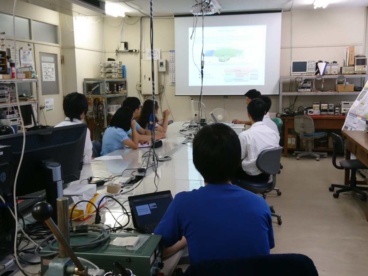 Events: 8/27 Open lab. for Sakura Science Japan-Asia Youth Exchange Program in Science