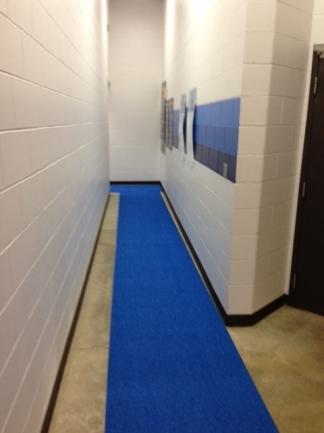 PEM Surface  SlipResistant Locker Room Flooring  Mats