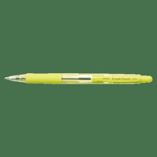 PENAC Japan - Kugelschreiber SLEEK TOUCH PASTELL limettengrün