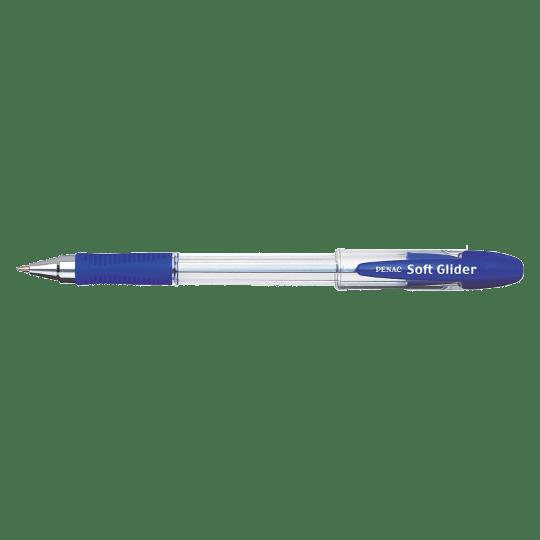 PENAC Japan - Kugelschreiber SOFT GLIDER blau