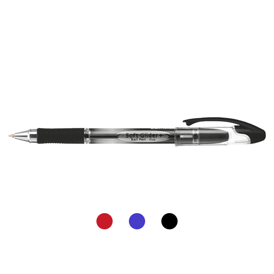 PENAC Japan - Kugelschreiber SOFT GLIDER + Übersicht