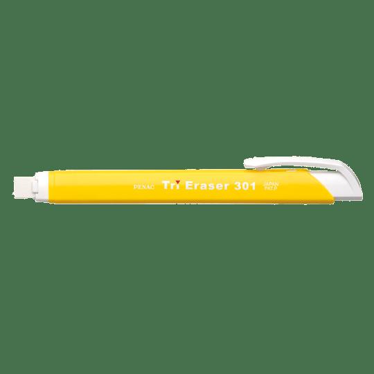 PENAC Japan - Radierer TRI ERASER gelb