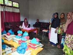 Dinsos Sula Salurkan Bantuan untuk Warga di 9 Desa