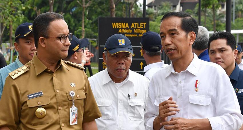 Jokowi dan Anies Baswedan Bareng Satu Mobil, Mengungkap ...