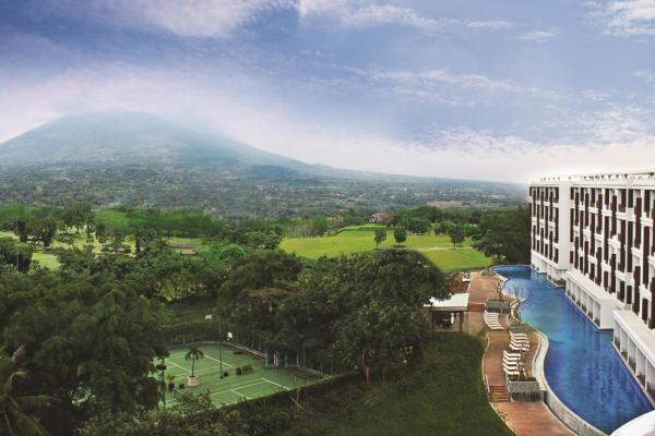 Lokasi Hotel Rancamaya