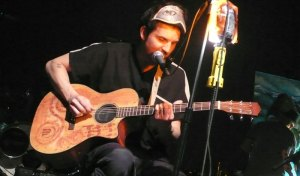 Cloud Cult frontman Craig Minows performs acoustically.