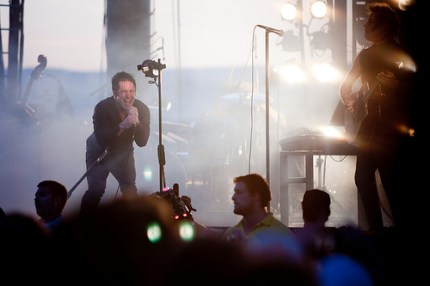 Trent Reznor. (Photo by Christopher Nelson)