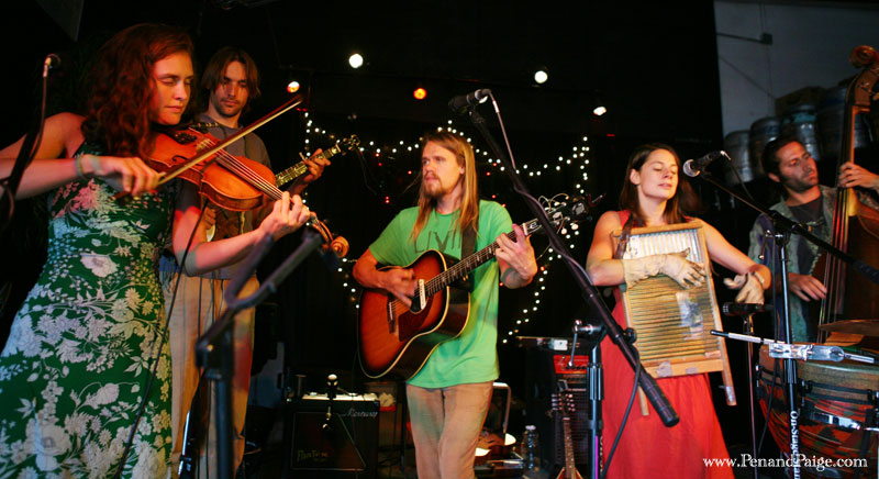 Nederland Colorado neo-folk band Elephant Revival's performance in Billings Aug. 21.