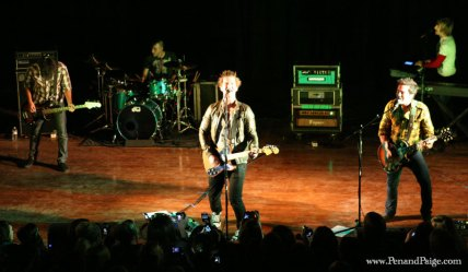 Secondhand Serenade in performance Oct. 9 at the Babcock Theater in Billings.