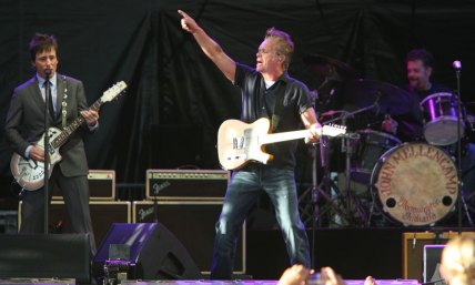 John Mellencamp in performance at Dehler Park in Billings.