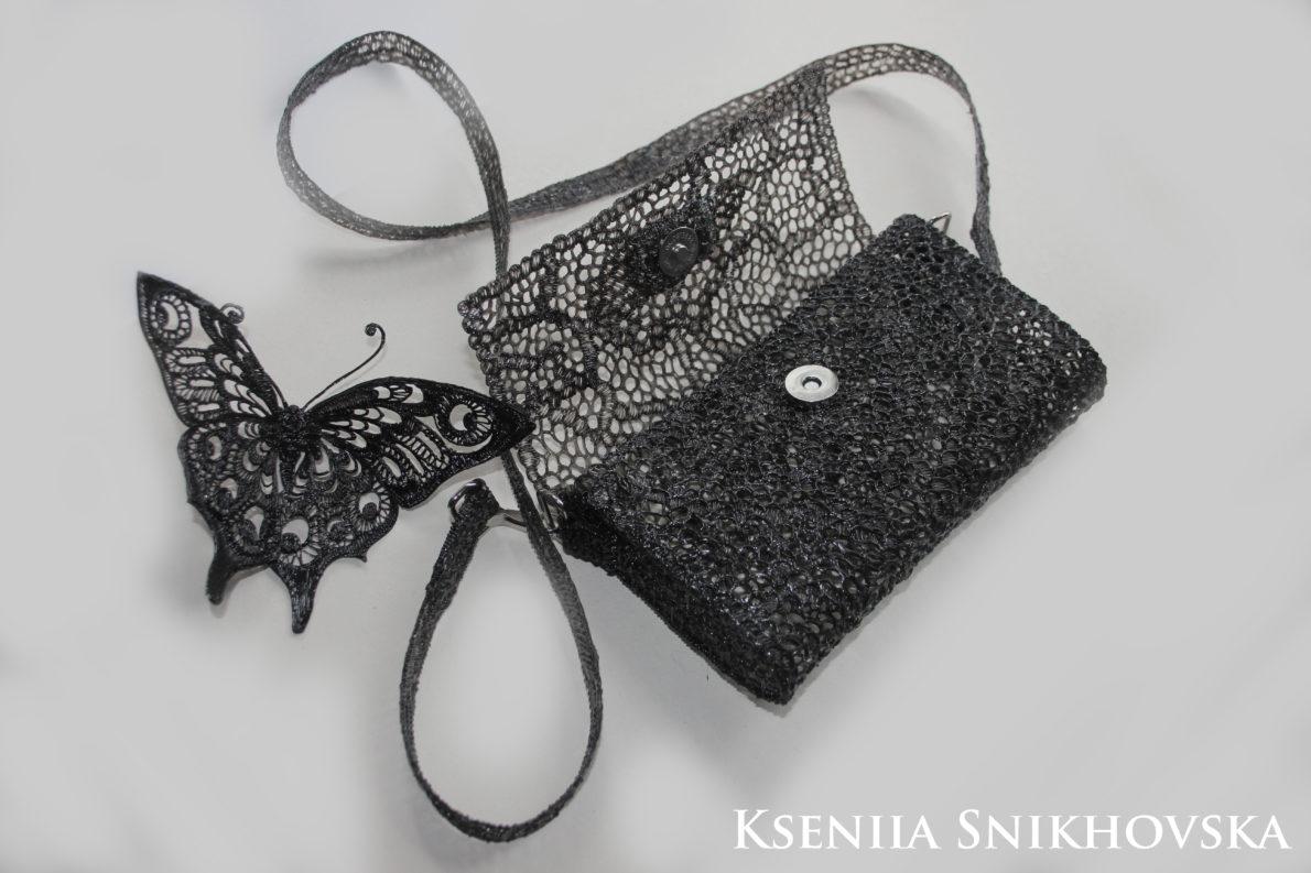 3d painted purse