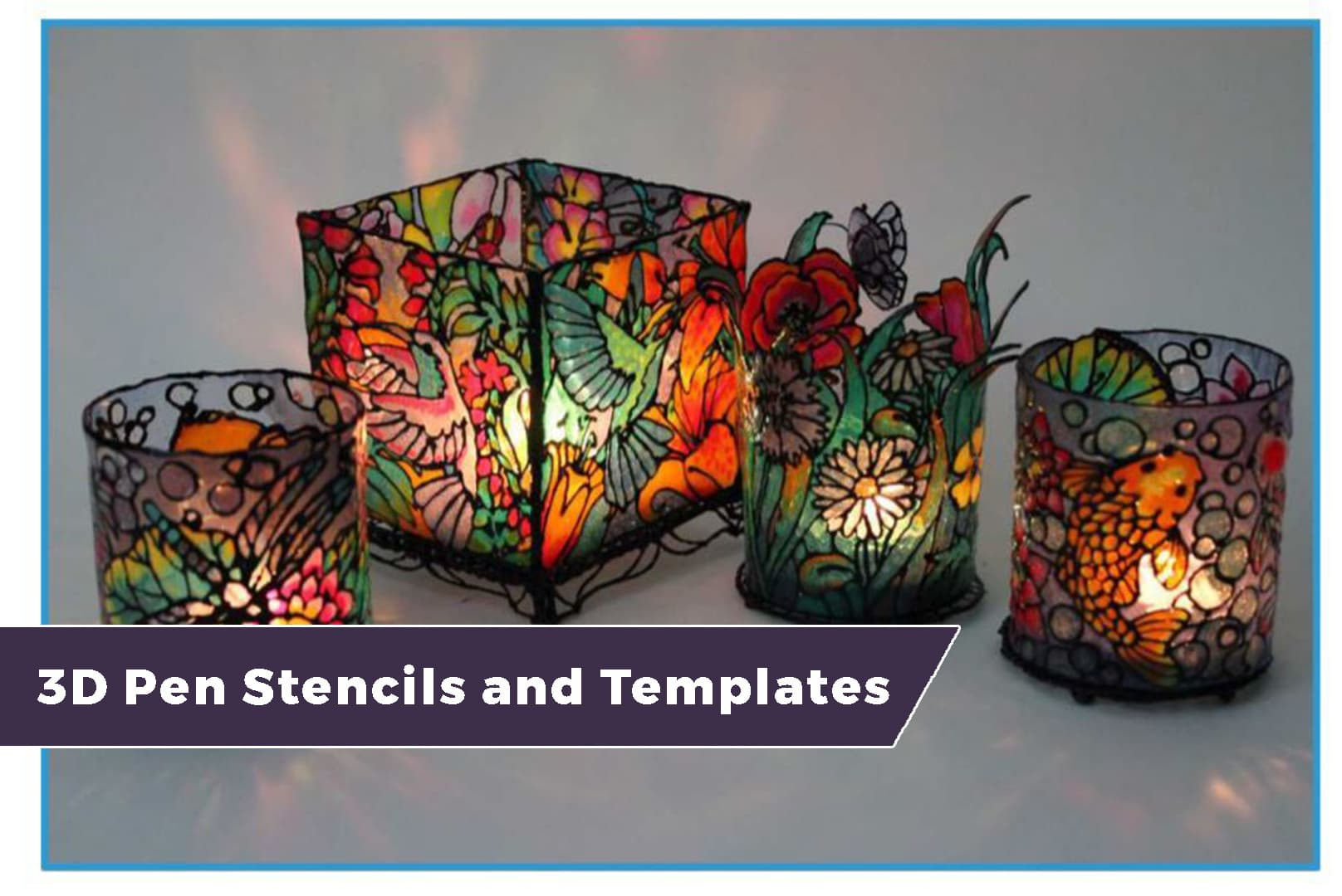 3d Pen Stencils And Templates Free Downloads Inside