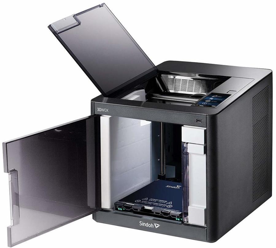 sindoh 3d printer opened
