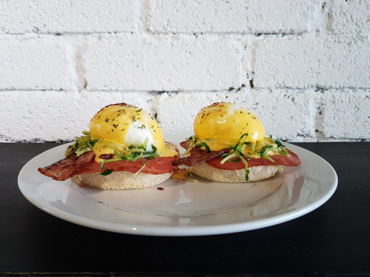 Marlons+Co Eggs Benedict