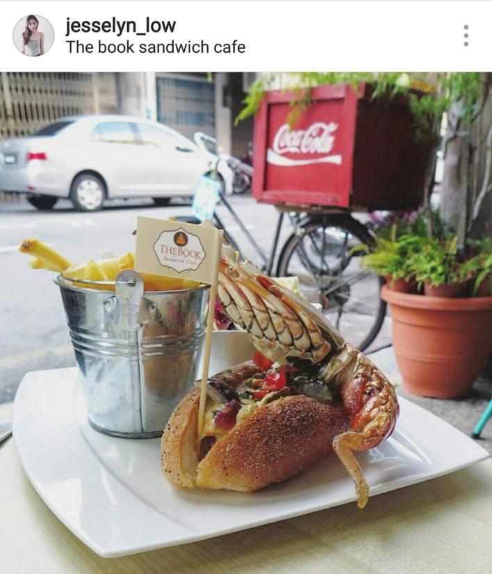 best cafe penang book sandwich cafe