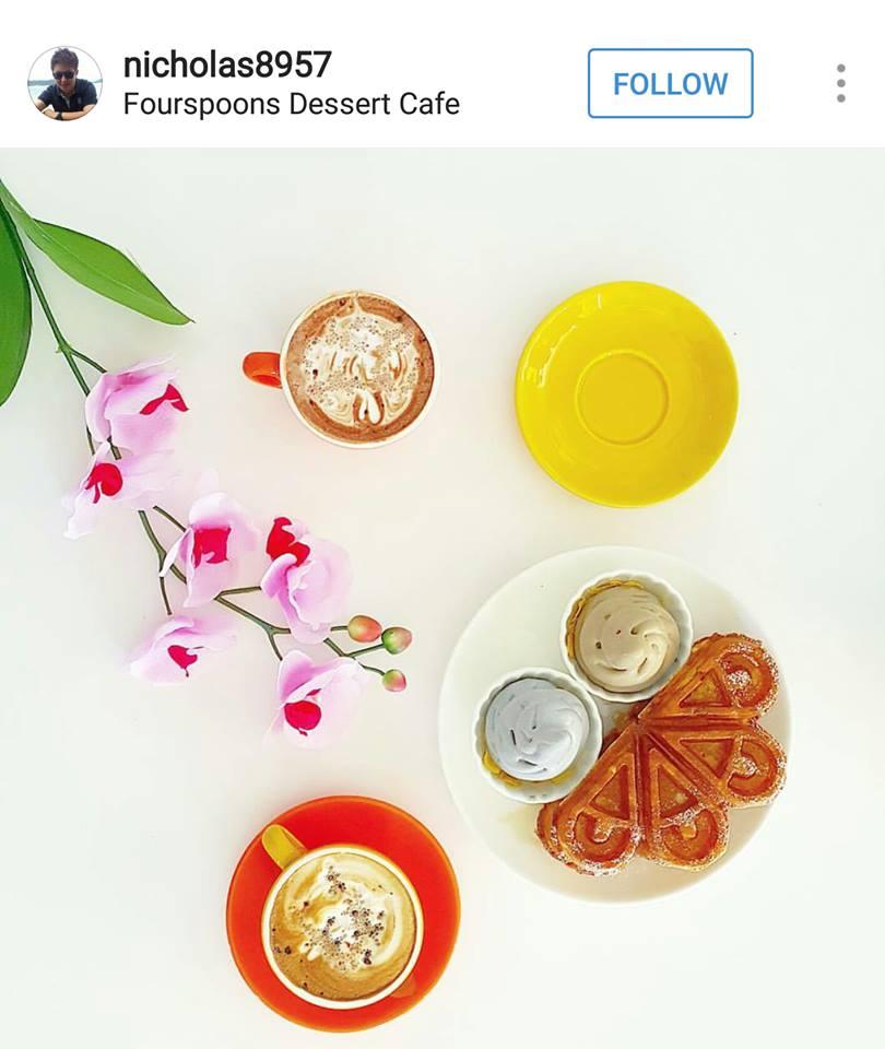 fourspoons dessert cafe Penang