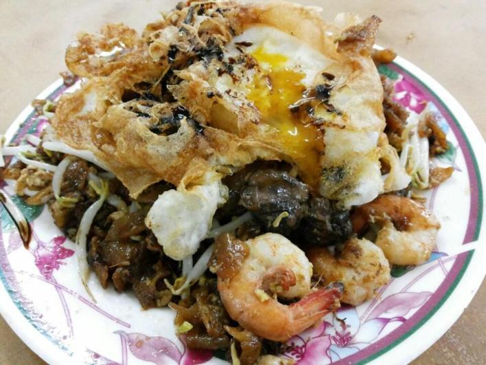Duck Egg Char Koay Teow