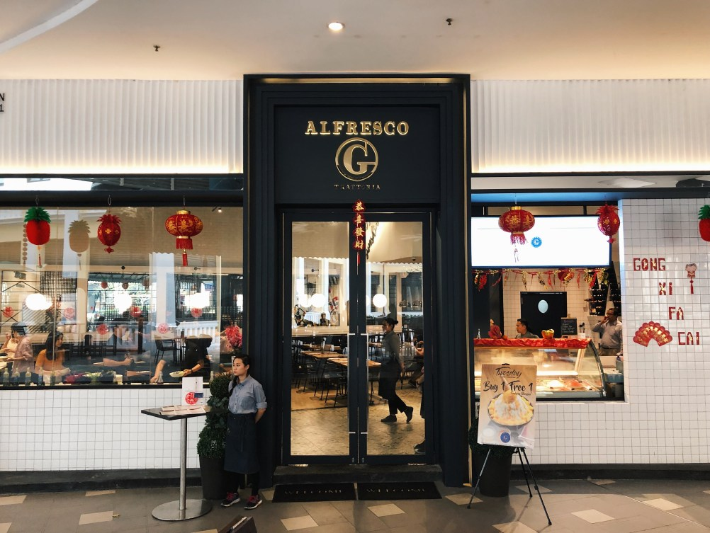 Experience Italy's Glorious Gluttony at Alfresco G Trattoria