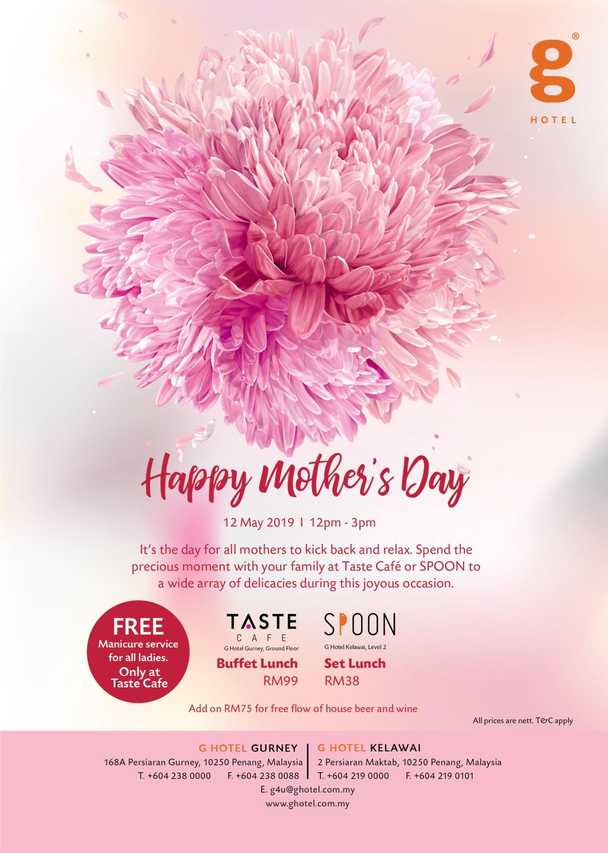 mother's day celebration ideas 2019