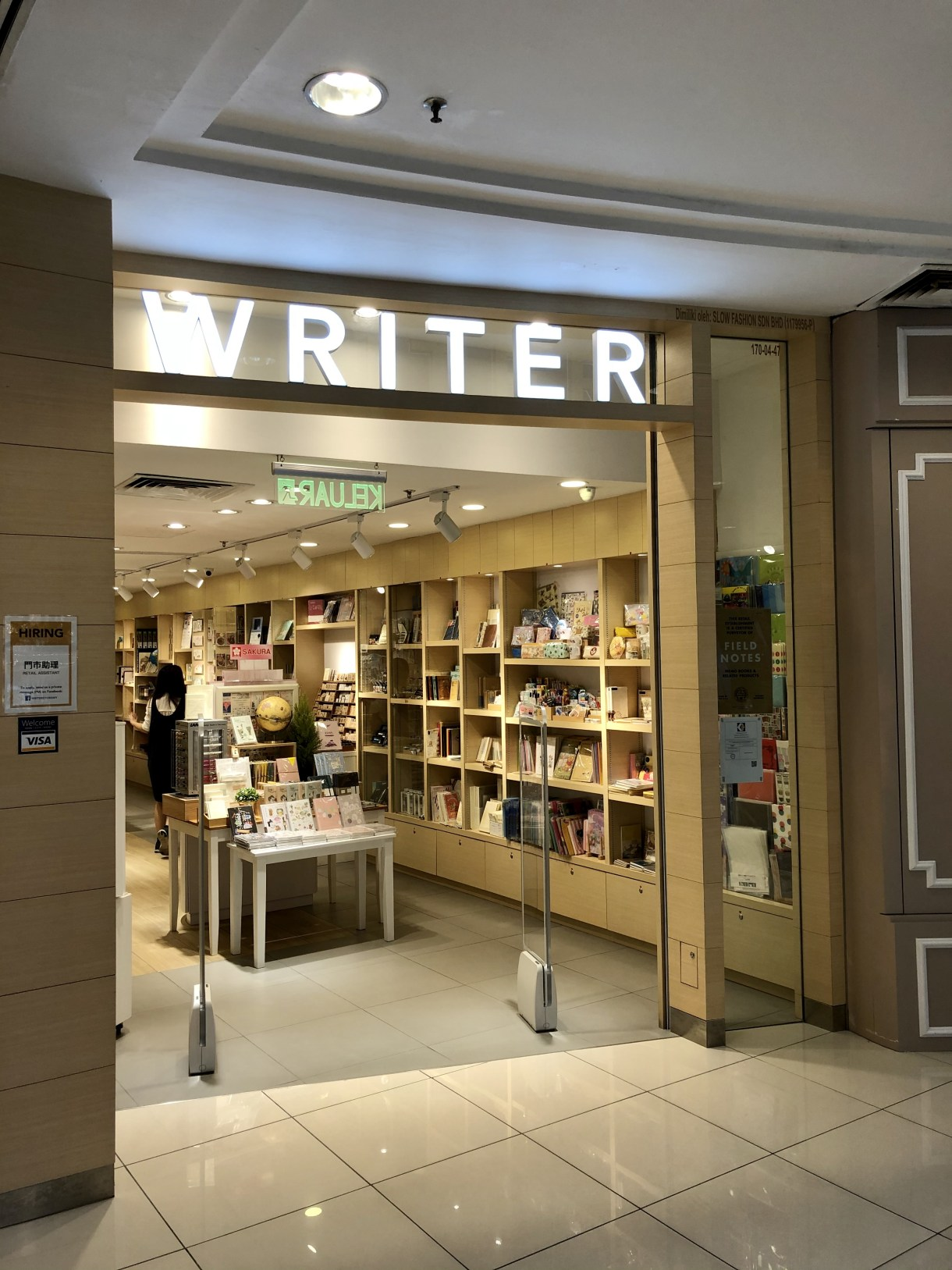 WRITER Year End Sale 2019