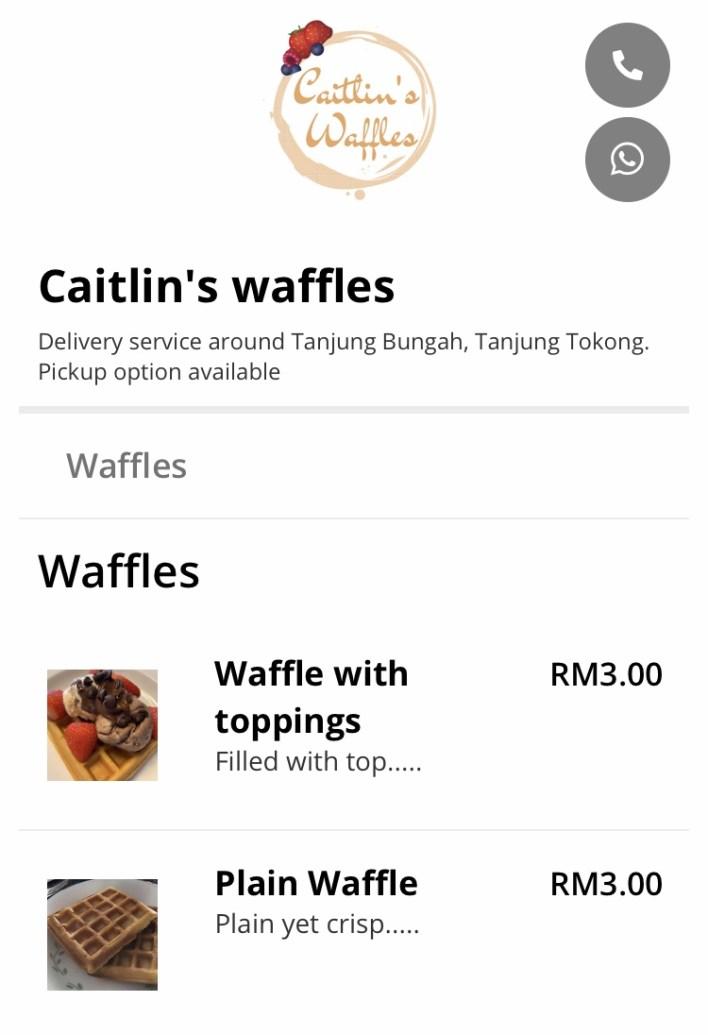 Caitlin's Waffles
