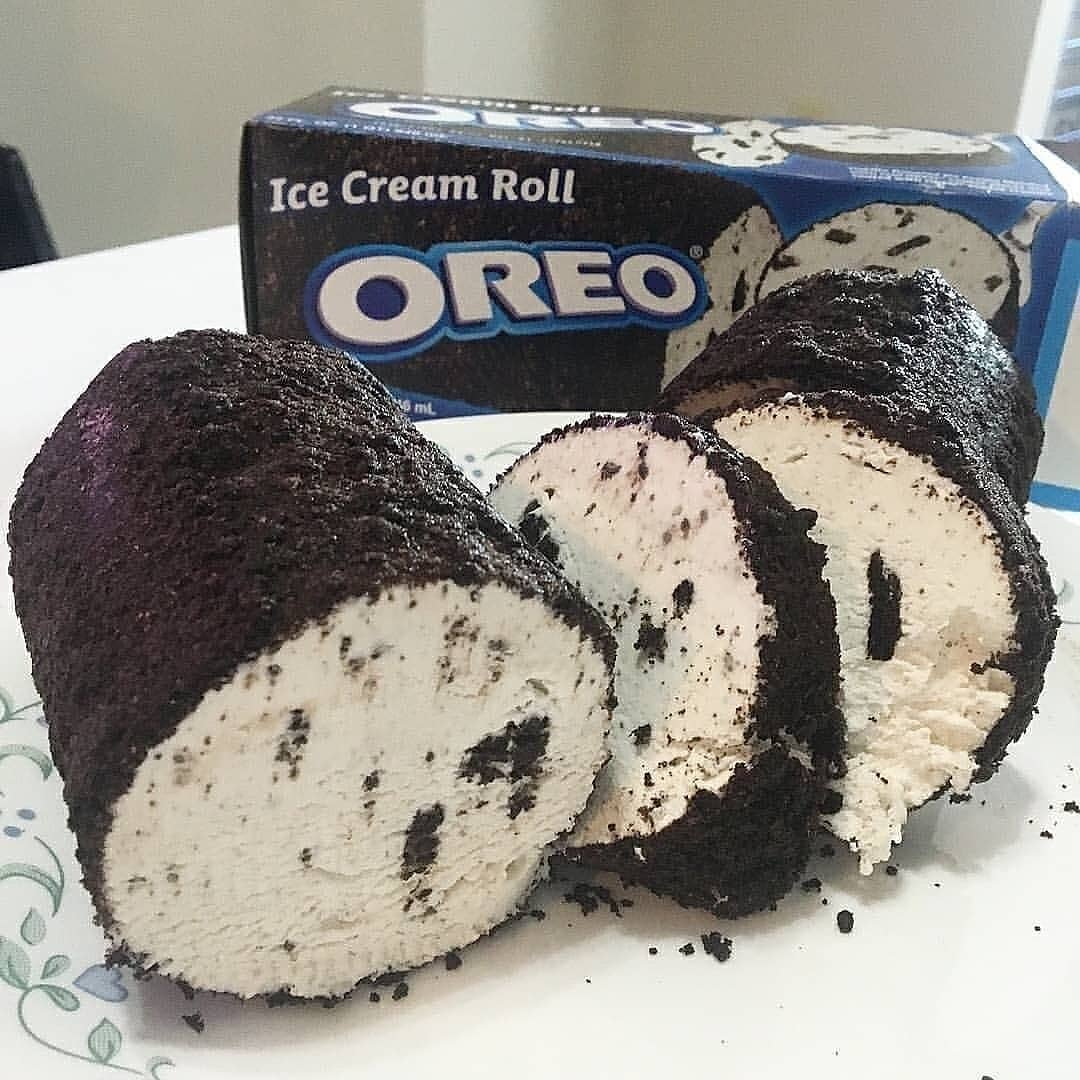 Oreo Ice Cream Roll