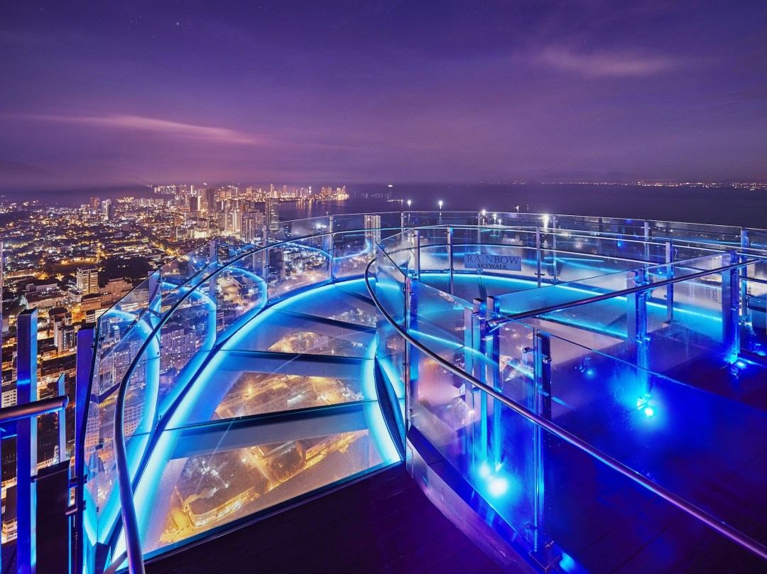 The Top Rainbow Skywalk