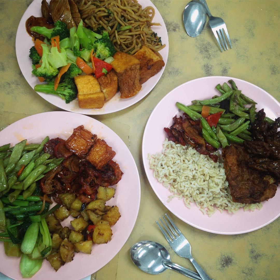 Vegetarian Spots Penang