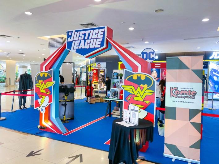 DC Justice League Sunway Carnival Mall Penang