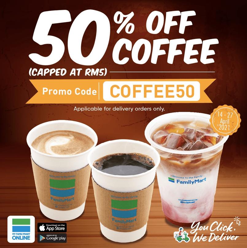 FamilyMart Coffee Promotion
