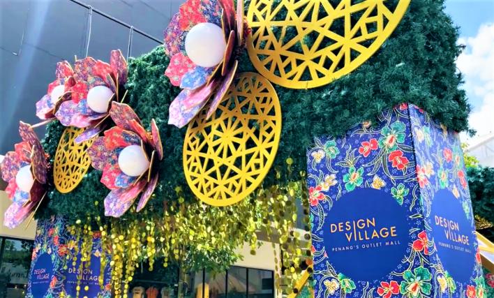 Design village ramadan raya