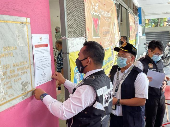 Batu Lanchang Market Closed