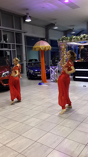 THe Bollywood Dancers.
