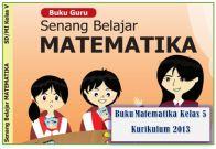 buku matematika kelas 5 kurikulum 2013 revisi 2018 dan 2017