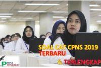SOAL CAT CPNS BKN 2019