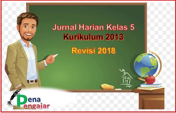jurnal harian kelas 2 revisi terbaru