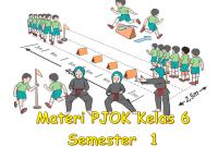 Materi PJOK Kelas 6 SD Semester 1