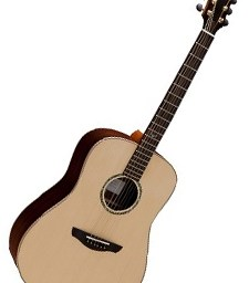 Faith FSHG Saturn Hi-Gloss Dreadnought Acoustic Guitar available at pencerdd music store penarth near cardiff