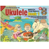 Progressive Ukulele Method for Young Beginners with CD available at Penarth Music Centre