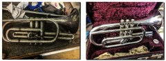 service and repair brass instruments Pencerdd Music Store Penarth near Cardiff