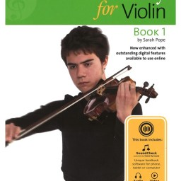 A New Tune A Day: Violin Book 1 (Book/Online Audio) available at Pencerdd Music Store Penarth