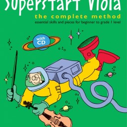 Mary Cohen: Superstart Viola - Complete Method (Book/CD) available at Pencerdd Music Store Penarth