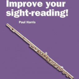 Improve your sight-reading! Flute 4-5 available at Pencerdd Music Store Penarth