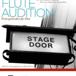 The Flute Audition available at Pencerdd Music Shop, Penarth