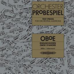 Test Pieces for Orchestral Auditions (Oboe) available at Pencerdd Music Store Penarth